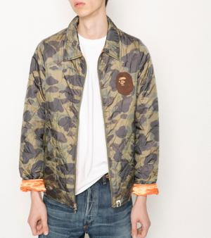 Blouson camouflage  - A Bathing Ape - Collection printemps-été 2013