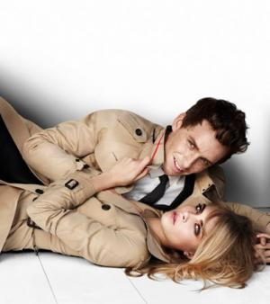 Burberry Prorsum - Campagne publicitaire pour la collection printemps-�t� 2012
