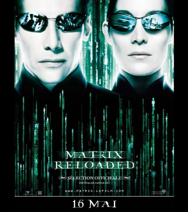Matrix reloaded, en 2003